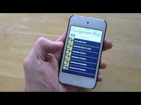 Georgetown Preparatory School Mobile App