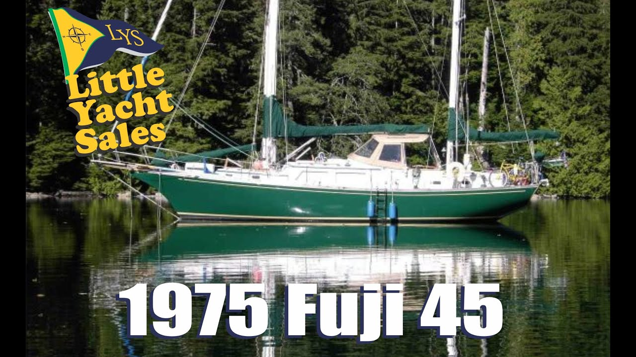 SOLD 1975 Fuji 45 Ketch Sailboat For Sale At Little Yacht Sales Kemah Texas YouTube