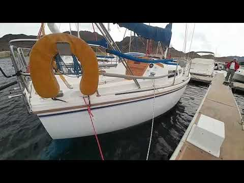 SOLD Sailboat for Sale on Lake Mead: Catalina 27 (1984)