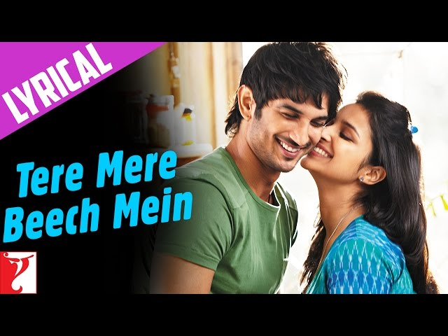 Song with Lyrics - Tere Mere Beech Mein - Shuddh Desi Romance Travel Video