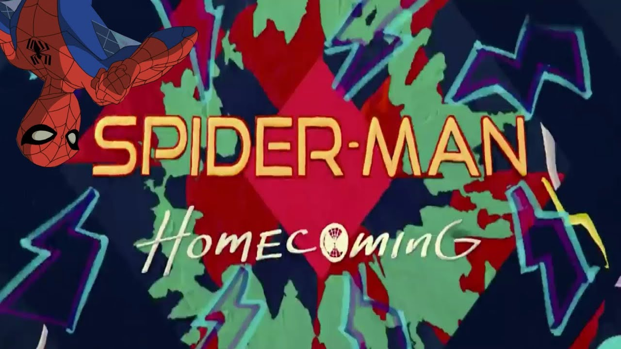 spider-man: homecoming end credits w/ spectacular theme song! - youtube