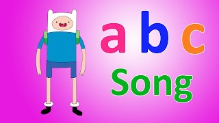 ABC Song for Kids | Adventure Time Kids Songs | Nursery Rhymes Songs for Children