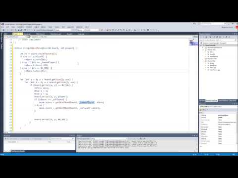 C++/Game Tutorial 40: AI for Tic-Tac-Toe with Minimax Algori
