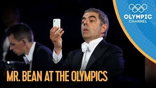 Mr. Bean / Rowan Atkinson London 2012 Performance(Check out the brandnew Olympic Channel: http://go.olympic.org/watch?p=yt&id=CwzjlmBLfrQ Rowan Atkinson performs under the guise of his famous character ..., 2012-07-27T21:39:25.000Z)
