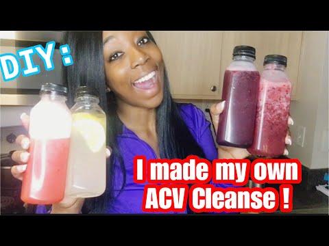 DIY: Apple Cider Vinegar Cleanse | Lose Weight Fast Drinking Apple Cider Vinegar