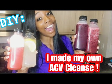 diy:-apple-cider-vinegar-cleanse-|-lose-weight-fast-drinking-apple-cider-vinegar