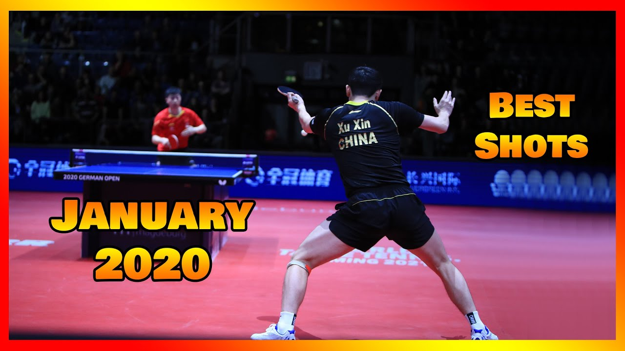 Download Best Table Tennis Shots January 2020 [HD]