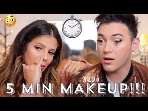 Thumbnail: 5 MINUTE MAKEUP CHALLENGE WITH LAURA LEE!