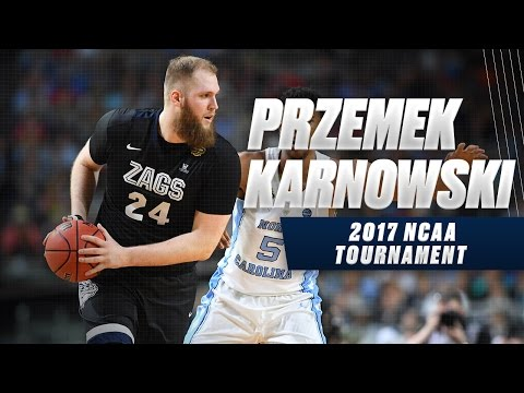 March Madness 2017 Highlights: Gonzaga's Prezemek Karnowski