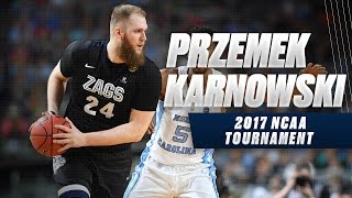 March Madness 2017 Highlights: Gonzaga's Prezemek Karnowski