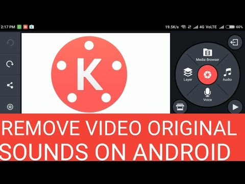 How to mute the orignal voice and replace it with another ? || Kinemaster tutorial