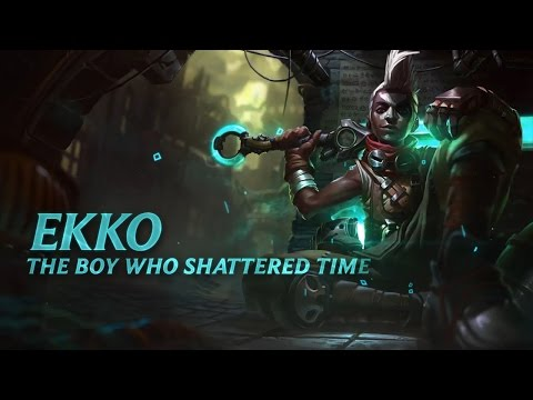 Ekko: Champion Spotlight  Gameplay  League of Legends