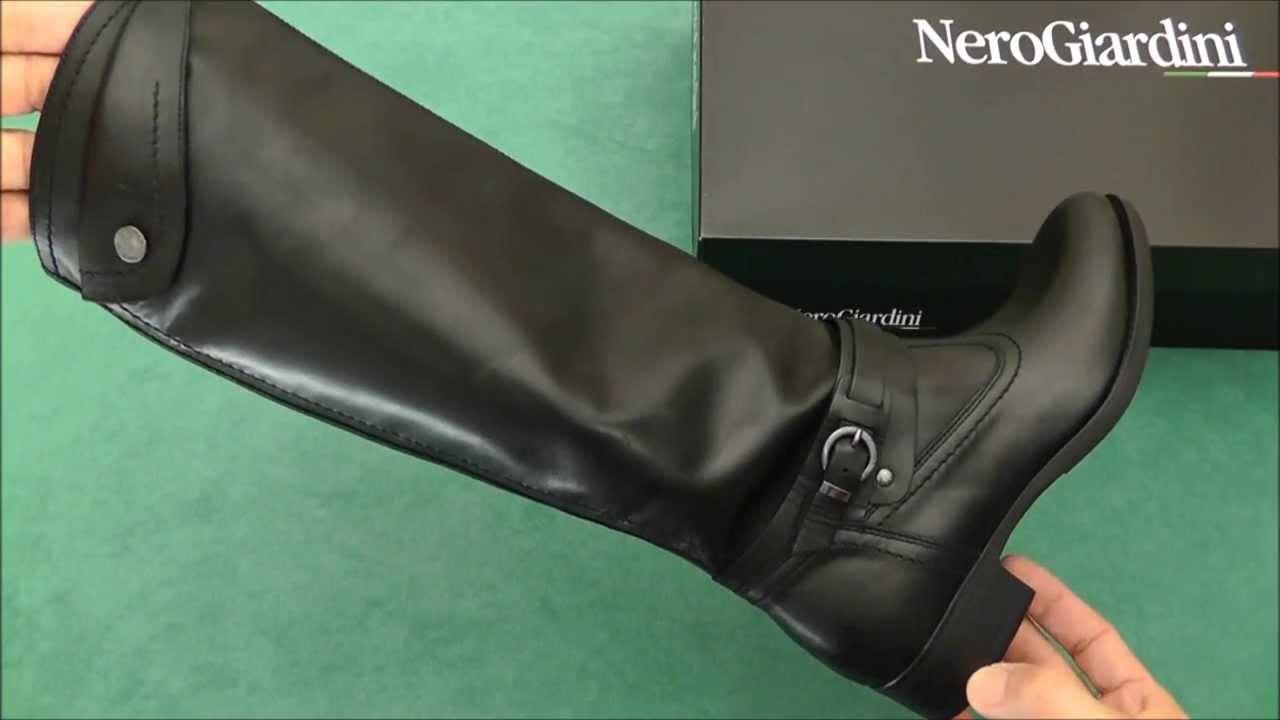 Nero giardini stivali classici a309210d youtube - Stivali bambina nero giardini ...