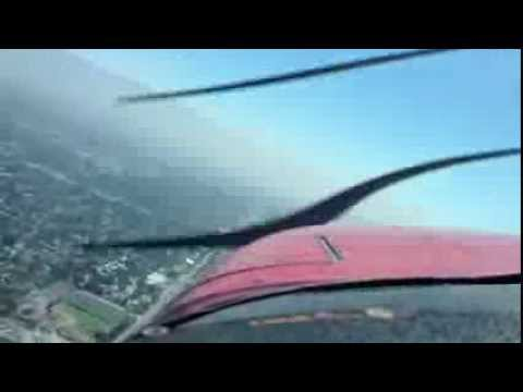 flying lesson, mountain flying,stalls.slow flight,steep turns over southern Cal
