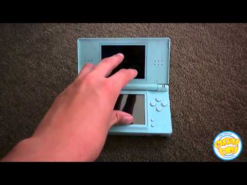 How to turn on a Nintendo DS Lite || Crazy DIY Perspective