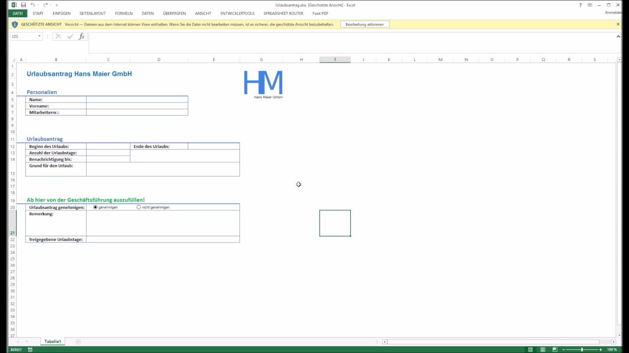 Youtube Video: Spreadsheet Router Tutorial: Geschützte Ansicht in Excel deaktivieren