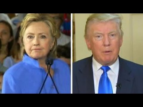 Trump, Clinton trade jabs over UK