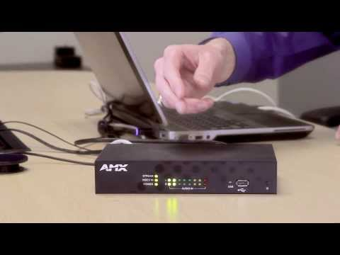 AMX H.264 Encoder Demonstration: These Encoders Simplify Video Streaming