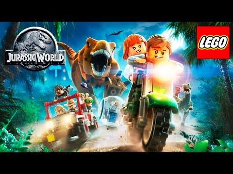 LEGO Jurassic World - Pelicula Completa en Español 1080p 60fps HD (Game Movie 2015)