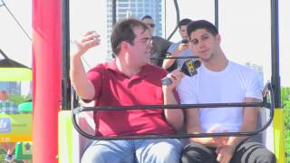 Exclusive video: Summerfest skyglider interview with SoMo