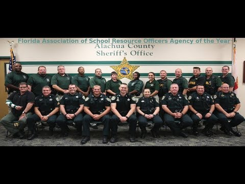 Alachua County Sheriff's Office: FASRO 2018 Agency of The Year
