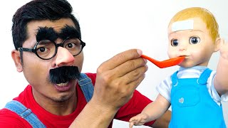 Sick Song | Nursery Rhymes Daddy Songs