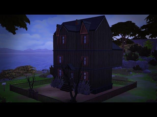 Szellemszállás   The Sims: 4 Speed Build
