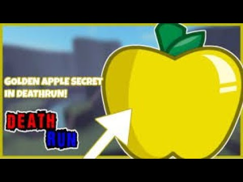 How To Get Golden Apple Roblox Deathrun Youtube