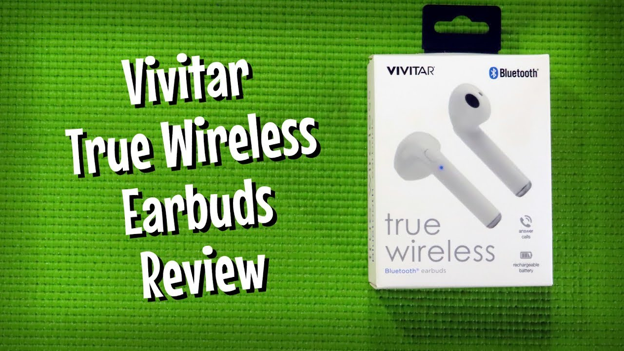 Vivitar True Wireless Earbuds Bluetooth Headphone Review Budget Buys Ep 34 Youtube