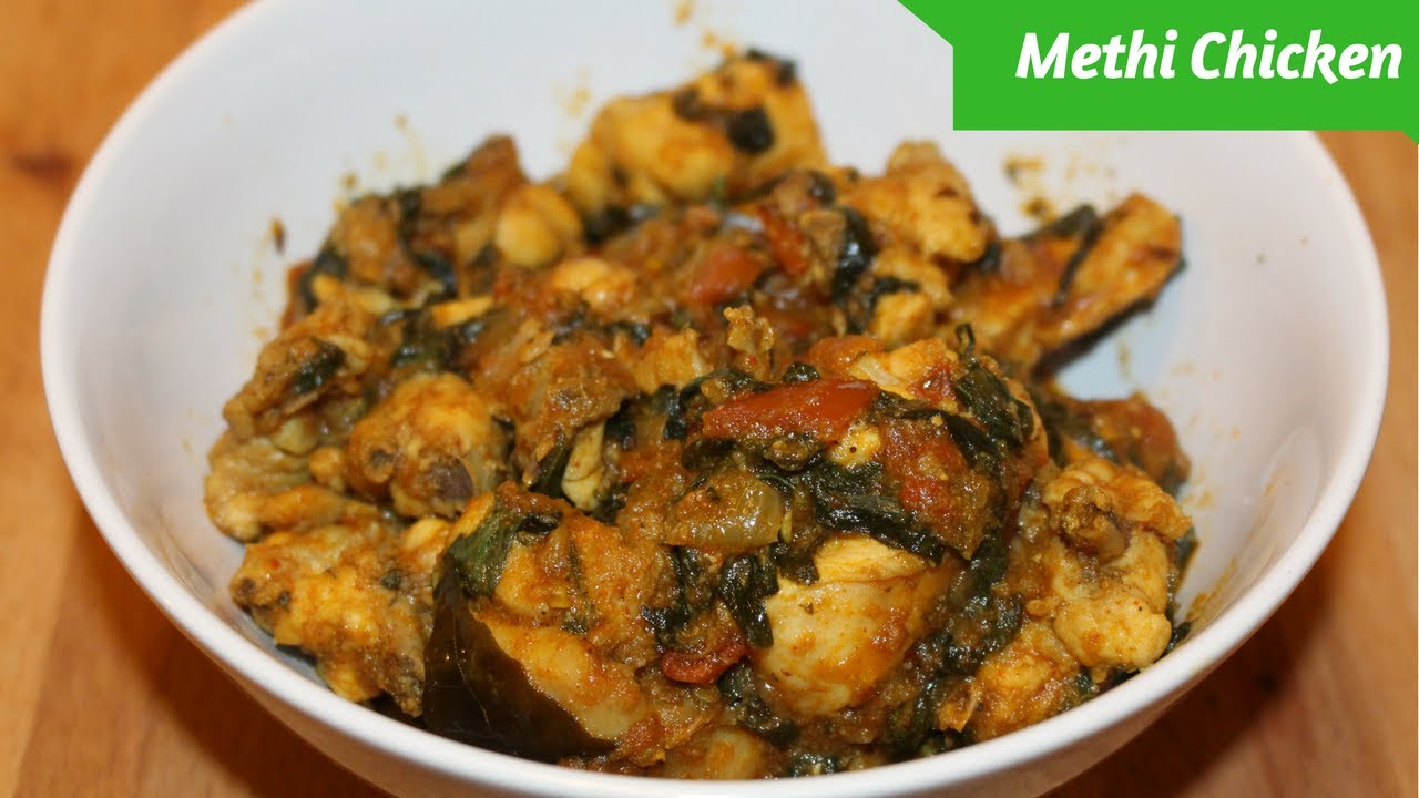how to cook methi curry