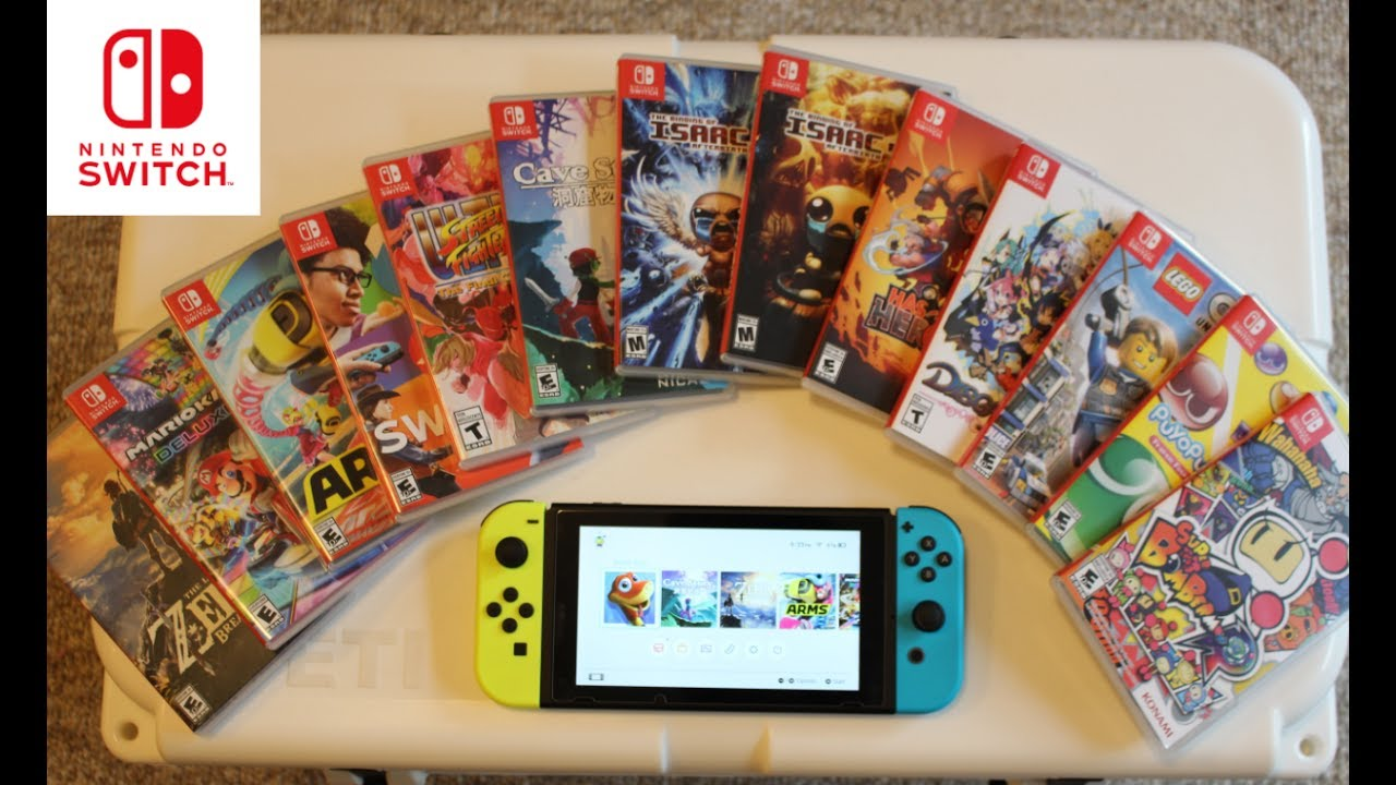 nintendo switch games on sale