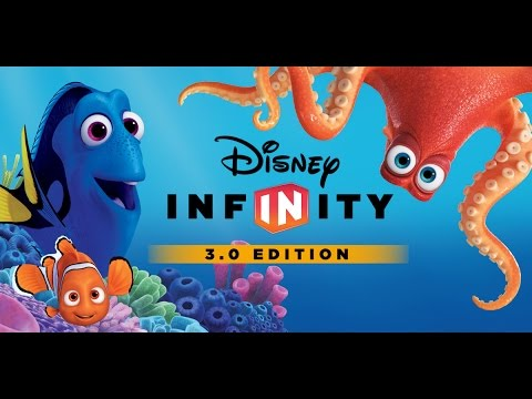 Finding Dory Disney Infinity Cartoon - Full Game Episode 1 - Movie - Finding Dory Movie Based Game