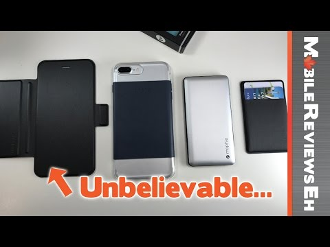 Great for people wearing suits? Mophie Hold Force Review – Modular iPhone 7/7 Plus Case Review