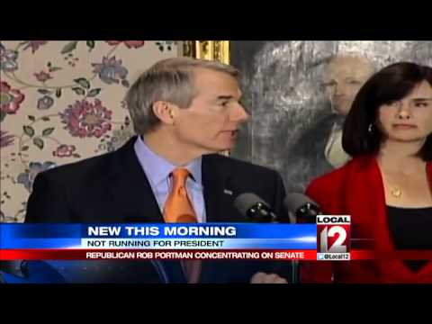 Ohio Senator Portman rules out presidential bid