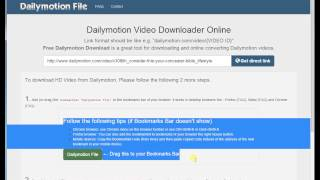 Video How to download dailymotion.com HD video using Chrome Browser download MP3, 3GP, MP4, WEBM, AVI, FLV September 2018