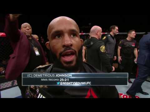 The Ultimate Fighter Finale: Demetrious Johnson & Tim Elliott Octagon Interview