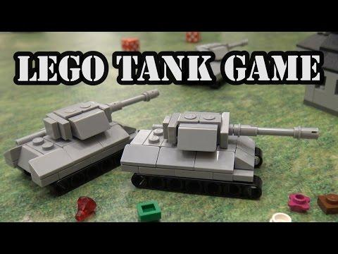 LEGO WWII Micro Tank Battle Combat Game by Brickmania