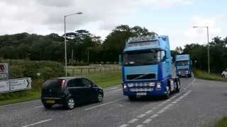 Mourne Truck Run 2015 at Cranfield and Greencastle turnoff