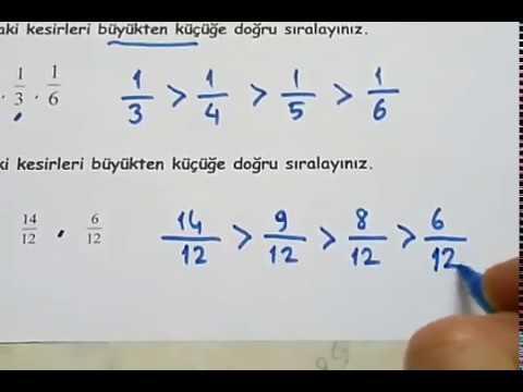 4.sınıf Matematik 2.dönem 1.yazılı (örnek 1)