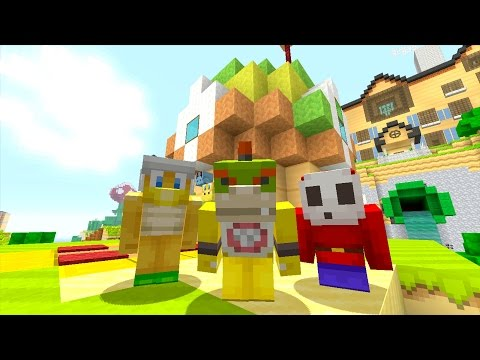 Minecraft Wii U - Nintendo Fun House - Bowser Jr Gets Kicked Out! [42]