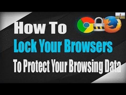 Đặt mật khẩu cho trình duyệt || Set password for your browser