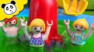 ⭕ Bob der Bademeister - Schleim im Playmobil Schwimmbad - Playmobil Film