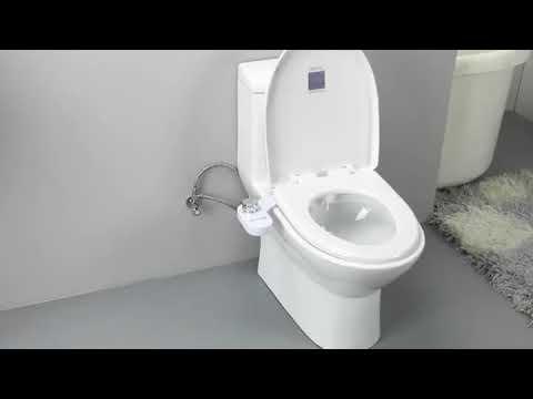 『現貨』免插電潔身器 不用電免治馬桶/ 洗屁股智能馬桶蓋沖洗器 單冷雙噴款