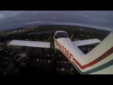 GoPro Hero4. Landing at Hartford Brainard Airport