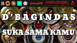 D'bagindas - Suka Sama Kamu | Classic Real Drum (covers) by ABENG