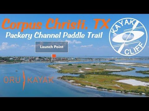 Texas Kayaking Corpus Christi Packery Channel