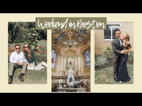 BOSTON TRAVEL VLOG // weekend getaway
