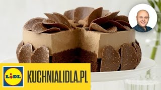 Tort czekoladowo-kawowy - Paweł Małecki - przepisy Kuchni Lidla