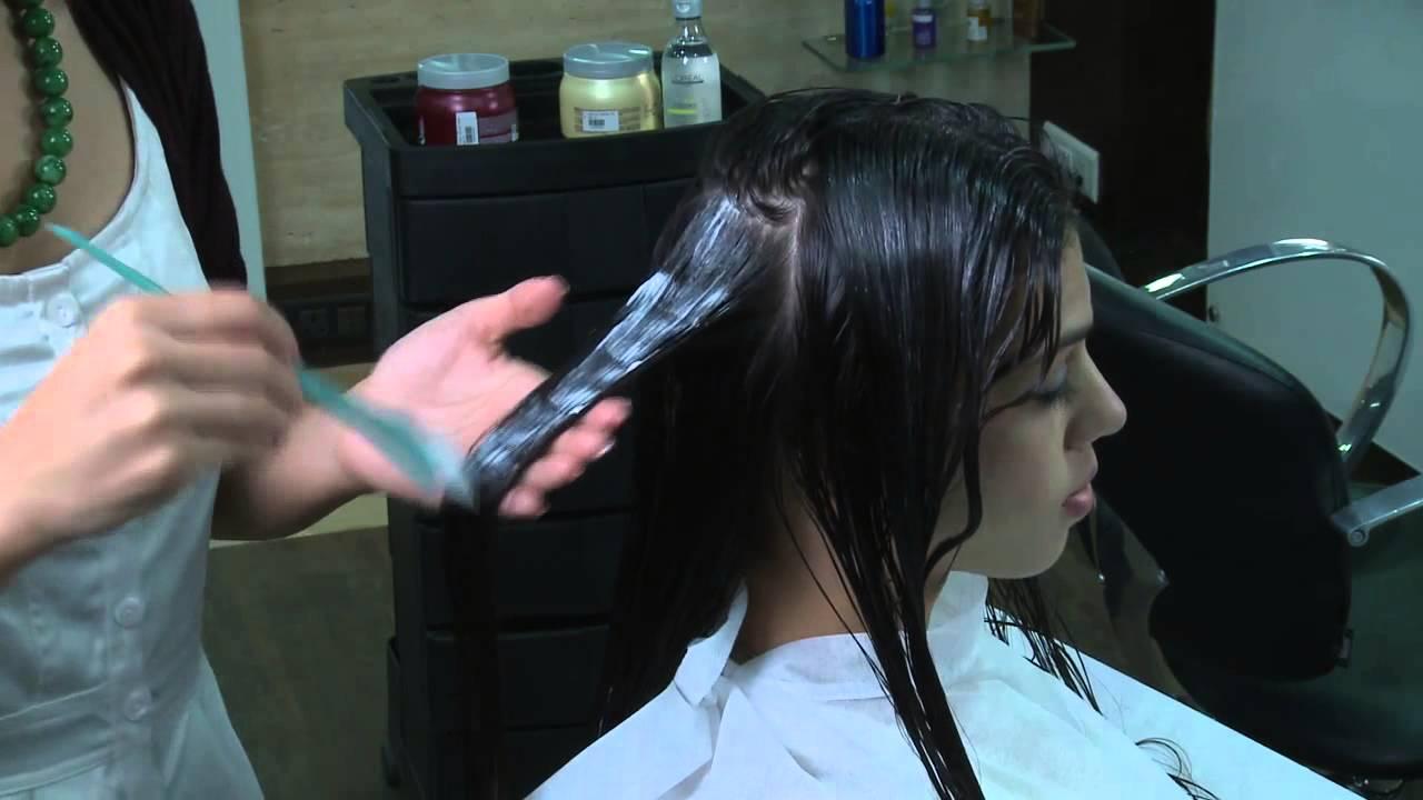 Hair spa rejuvenating hair treatment increases streaght of hair youtube - Hair straightening salon treatments ...