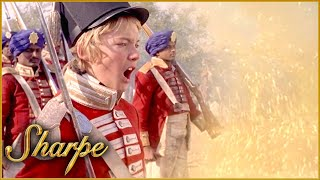 Young Boy Leads The British Into Battle | Sharpe